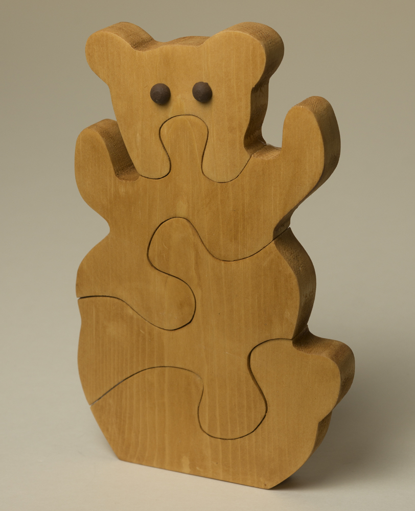 0518KCS Bear puzzle (4pc)