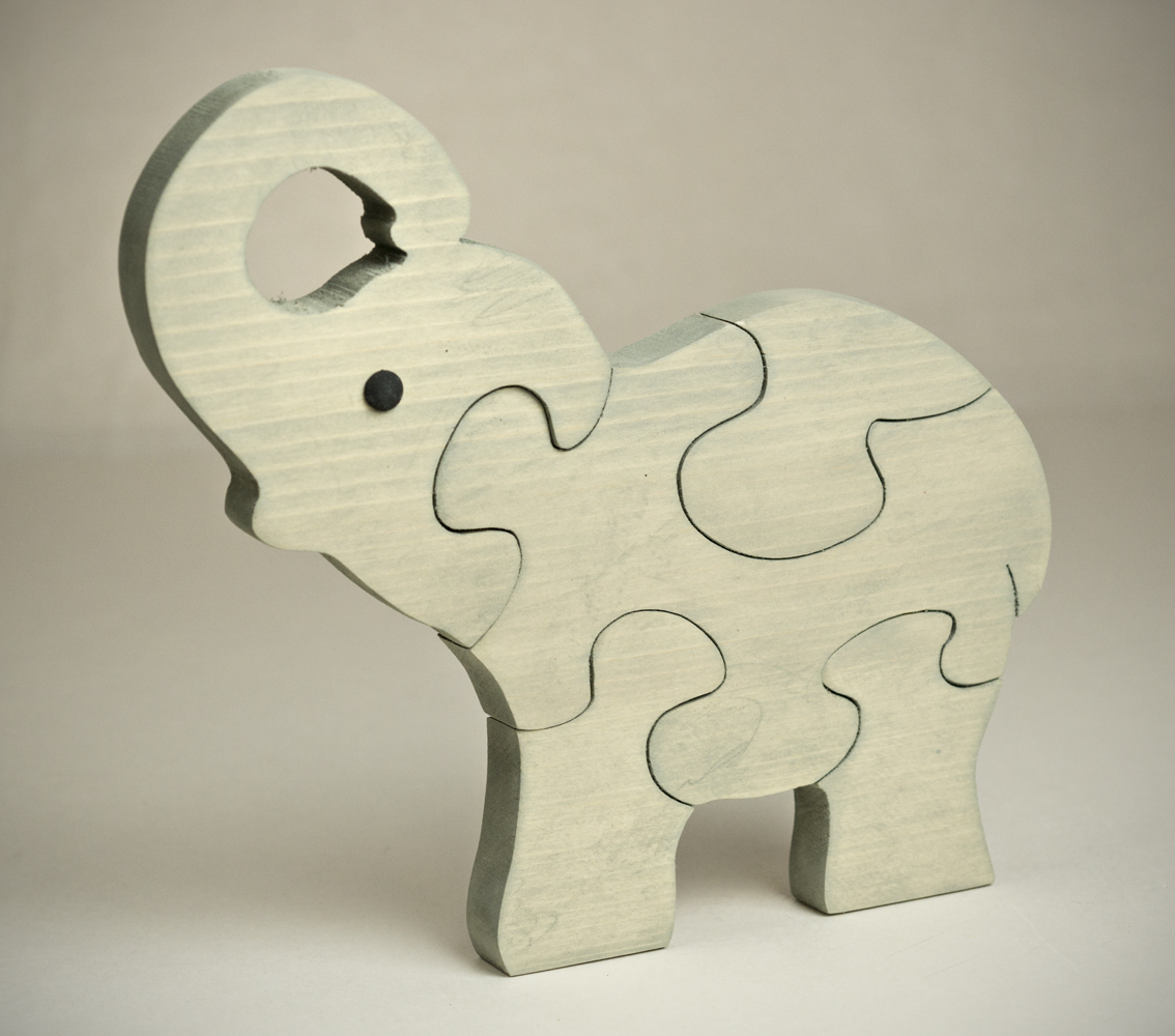0518JCS Elephant puzzle (5pc)