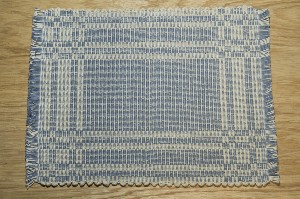 001106LB Placemat, Light Blue