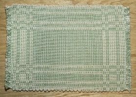 001106LG Placemat, Light Green