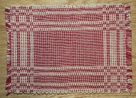 001106RD Placemat, Red