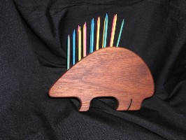 01064 Toothpick Holder, Porcupine