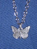 094036 Butterfly on chain