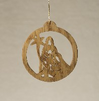 16115 Nativity, cut-out ornament