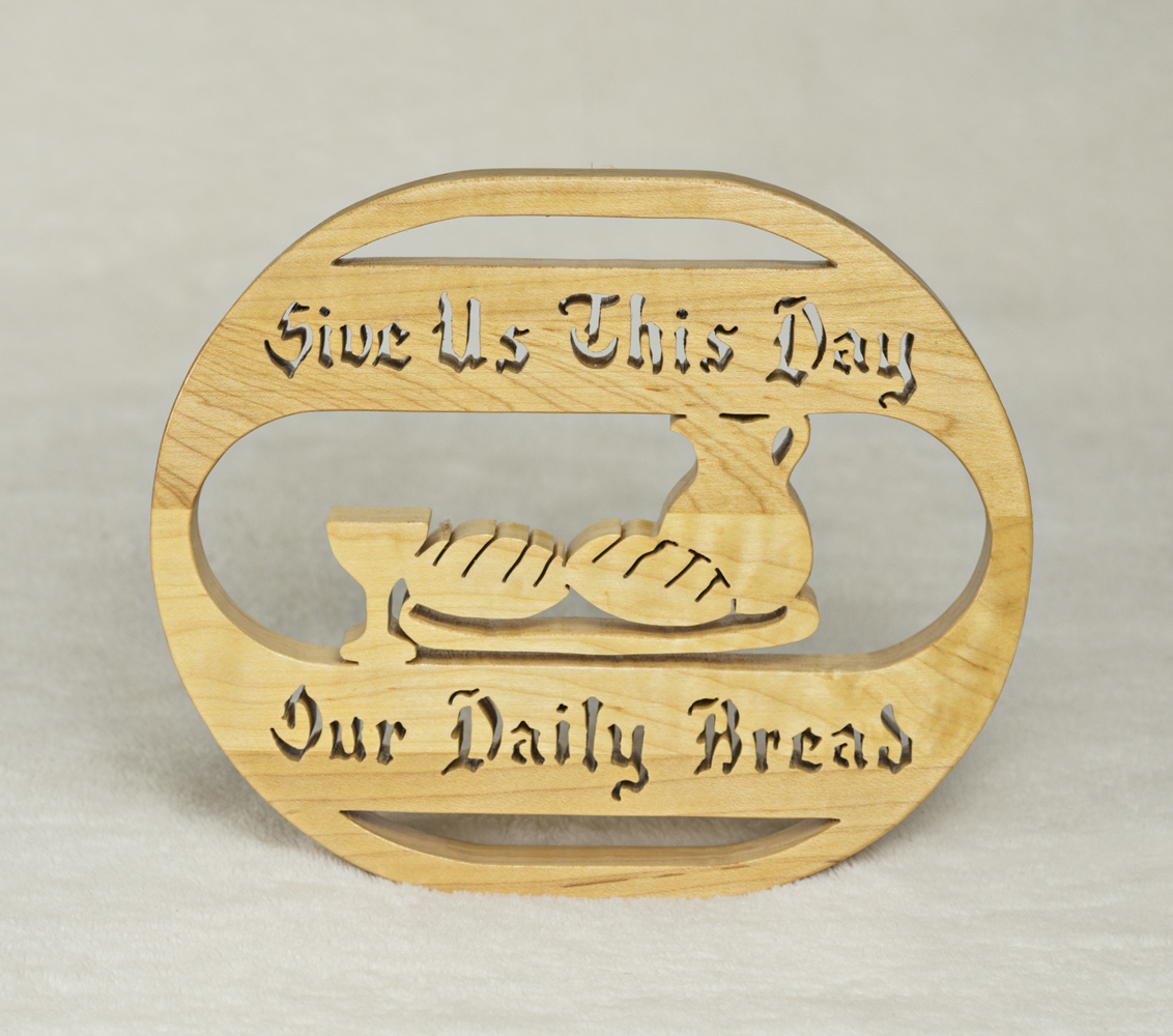 1724 Daily Bread Oval Plaque