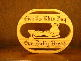 1724 Daily Bread Plaque