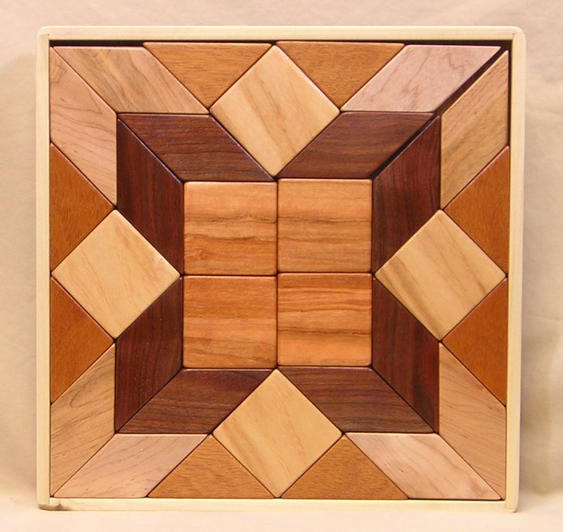 506A Hardwood Tray Puzzle