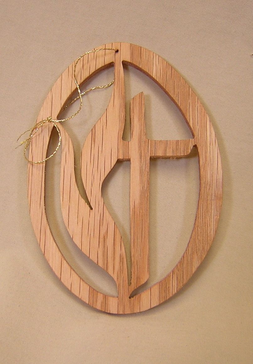 16089 UM Symbol cut-out ornament